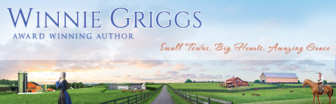 Winnie Griggs, Award Winning Author